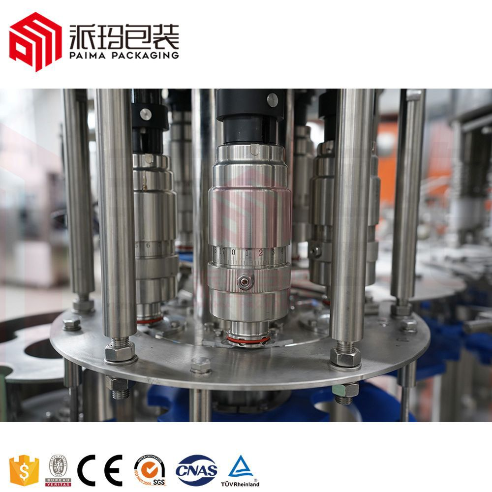 Automatic 3 In 1 Monoblock Bottled Water Filling Machine