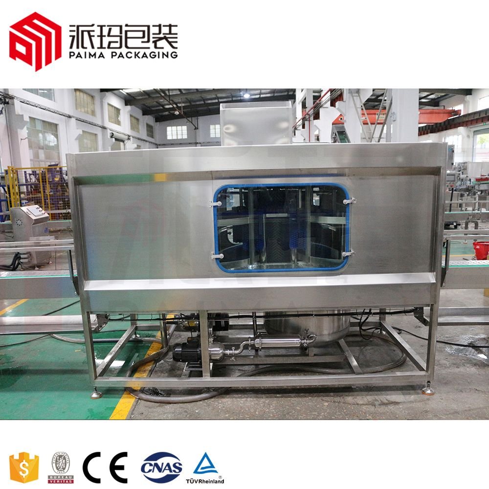 3-5 Gallon Bottled Water Bottling Machine Pure Water Production Line